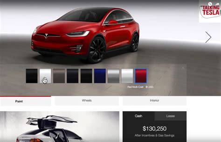 Tesla S Mist Walkthrough Walkthrough Of Tesla Model X Design Studio Configurator