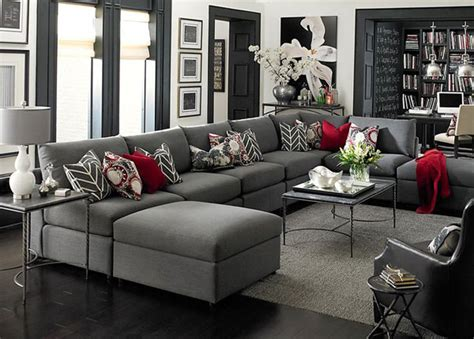 4 ways to decorate around your charcoal sofa maria killam the true colour expert