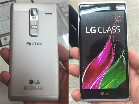 Hp Lg Class lg class smartphone live image surfaced hints