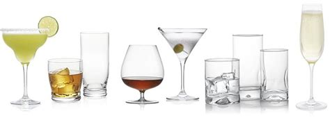 Bar Drinkware Guide To Types Of Bar Glasses Crate And Barrel