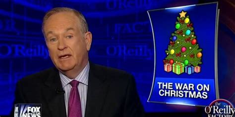 and bill oreilly appear on the oreilly factor on the fox news the war on christmas a comprehensive history
