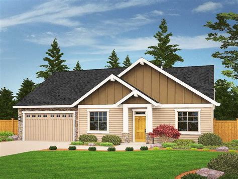 craftsman ranch house plan 890046ah architectural designs 3 bed craftsman ranch with bonus 85087ms architectural