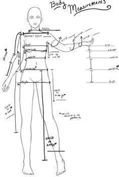 pattern drafting measurement chart how to take body measurements from le divan sewing