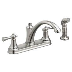 handle kitchen faucet american standard portsmouth 2 handle kitchen faucet with