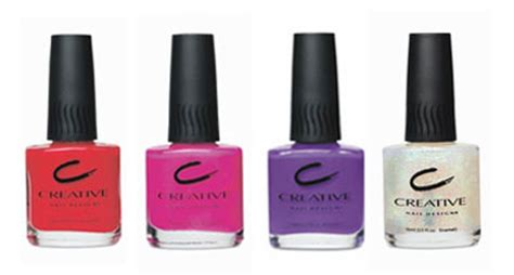2007 Creative Nail Optix by Bellissima Creative Nail Design Glow In The Nail