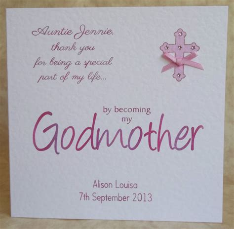 Godmother Cards Birthday Godmother To My Birthday Quotes Quotesgram
