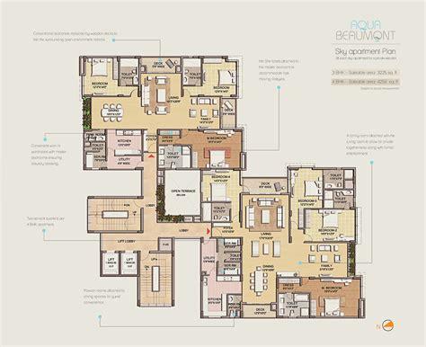 typical floor plan space group aqua beaumont