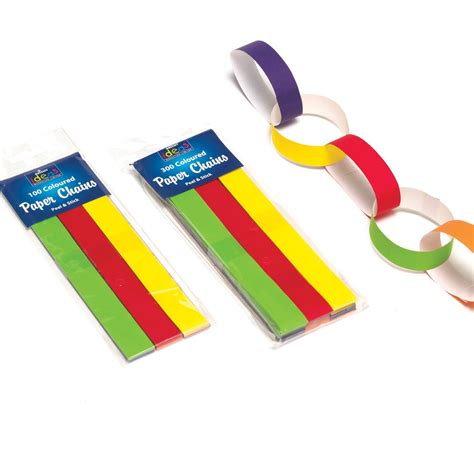 Paper Chains - paper chains pack of 100 2017