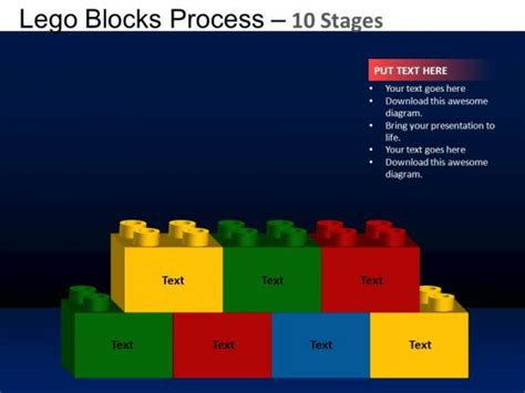 lego design for powerpoint powerpoint design editable lego blocks ppt backgrounds