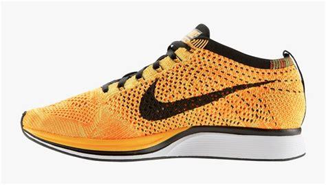 Sepatu Sneakers Nike Flyknit Racer Premium Quality Bnib Terlaris best price high quality nike flyknit racer team orange black s running shoes