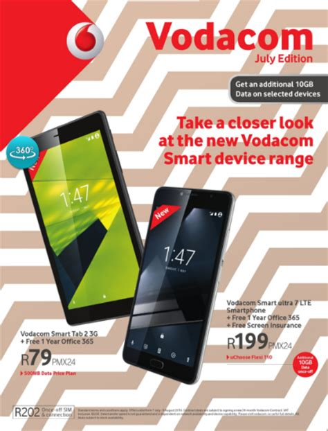 vodacom promotions vodacom july specials 05 jul 2016 08 aug 2016 find
