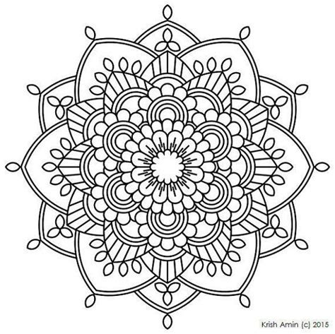 mandala coloring pages download 112 printable intricate mandala coloring pages instant