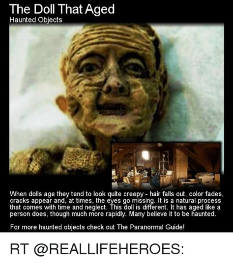 haunted doll memes the doll that aged haunted objects when dolls age they