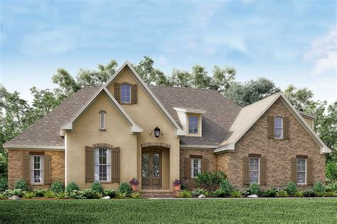 home planes southern home plan with bonus room 51735hz architectural designs house plans