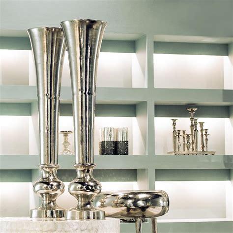 nic duysens nic duysens alu vase trompete nickel poliert deko vase ebay