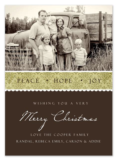 top 5 free christmas card list templates word templates excel