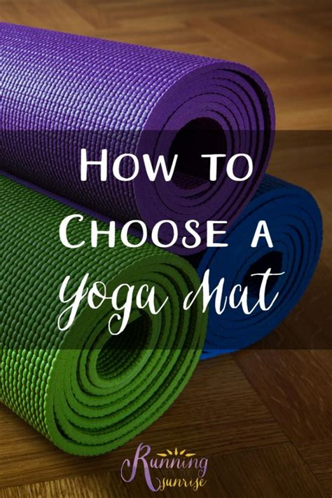 How To Choose Mat how to choose a mat sublimely fit