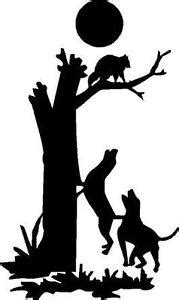 how to a coon to tree a raccoon black vinyl decal coon tree hunt raccoon truck sticker ebay