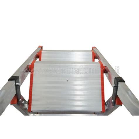 sgabello alluminio sgabello kubo 5 gradini scale in alluminio