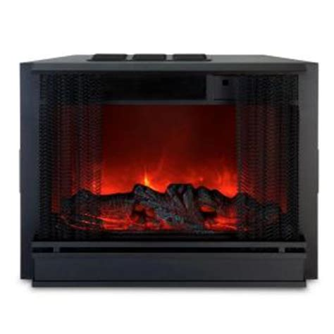 real electric fireplace insert real 20 in electric fireplace insert discontinued