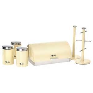 Kitchen Storage Canisters Sets by Dihl 6 Piece Kitchen Storage Set Bread Bin Tea Coffee
