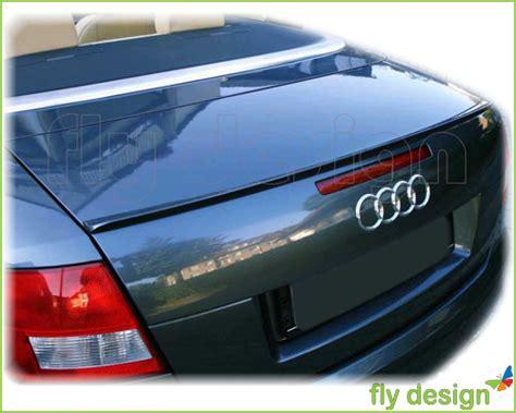 Kosten Lackierung Audi A4 by Audi A4 Tuning Spoiler Lackiert Brillantschwarz Schwarz