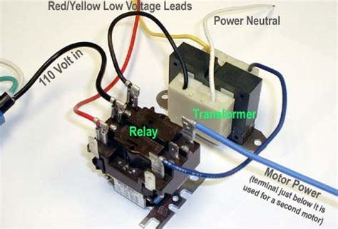 110 volt relay wiring diagram 110 free engine image for