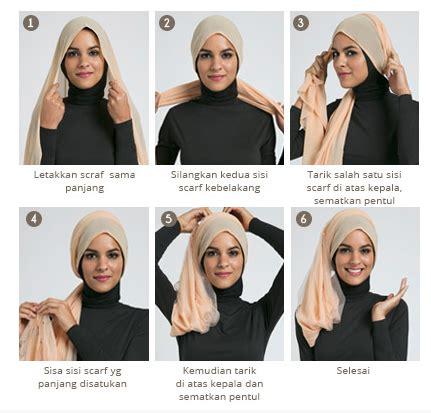 tutorial jilbab pesta bahan satin cara memakai jilbab modern bahan satin kreasi terbaru