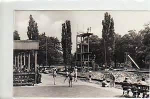 schwimmbad nauen alte ansichtskarten postkarten antik falkensee zeitz