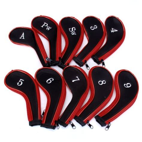Stick Golf Cover Iron Set Pelindung 10 golf clubs iron set headcovers cover the essential kit shop