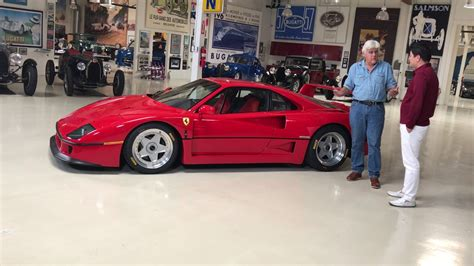 Leno F40 by F40 Episode Of Leno S Garage