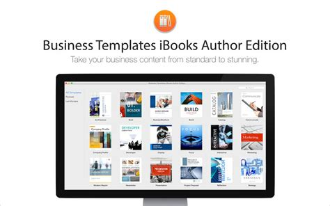 templates for ibooks author business templates ibooks author edition sul mac app store