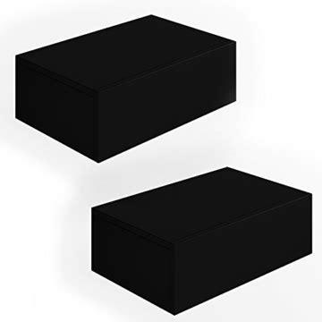 nachttisch kommode schwarz 187 2x nachttisch kommode nachtschrank schublade ablage