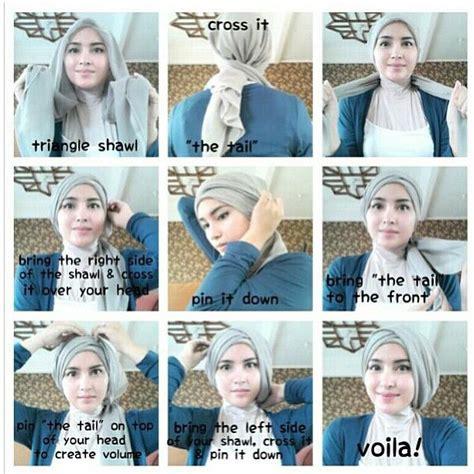 video tutorial hijab turban segi empat tutorial hijab segi empat untuk kebaya www imgkid com