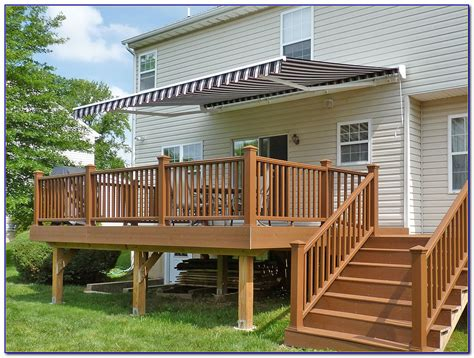 patio retractable awning ideas patios home decorating