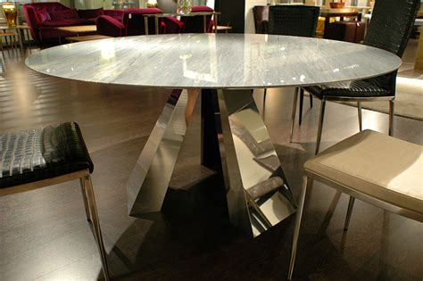 1 Contemporary Furniture 174 Product Page Grey Marble Dining Table