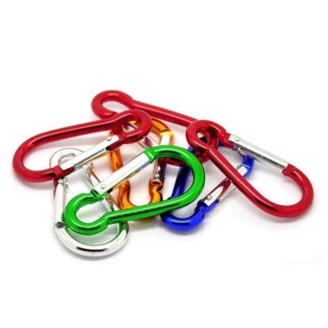 Gantungan Jemur Sepatu Hanger Kait Sepatu gantungan kunci klip carabiner kait warna warni grosir