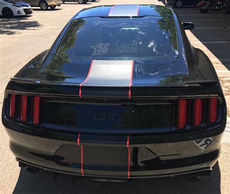 mustang shelby stripes mustang racing single stripes style 2 colors shine