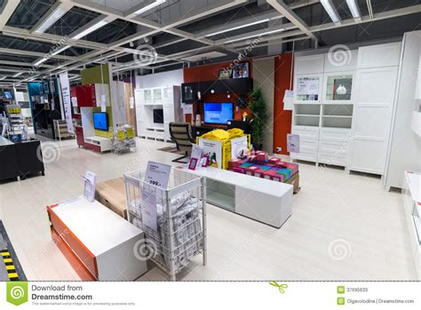 ikea stock interior furniture store ikea editorial stock photo