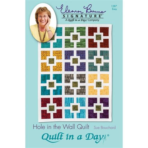 Sue Bouchard Quilt In A Day by 1 X Pattern In The Wall Quilt By Quilt In A Day Sue