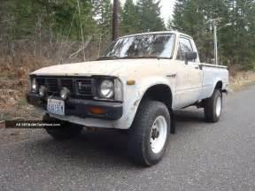 Toyota 4x4 Truck 1981 Toyota Truck 4x4 22r Hilux