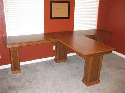 plywood desk plans   build diy woodworking