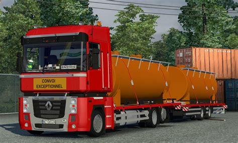 renault truck magnum renault magnum platform tandem ets2 mods