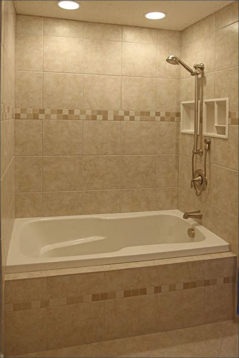 Simple Bathroom Tile Design Ideas Small Bathroom Design Ideas Come With Neutral Bathroom Wall Tile With Beige Polished Marble And