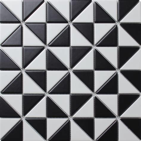 pattern white tiles 2 matte multi windmill pattern porcelain triangle mosaic