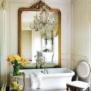 french bathroom mirror floor mirror behind tub french bathroom