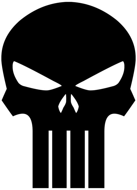 punisher template the gallery for gt punisher skull stencil