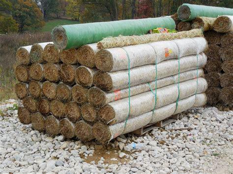 Straw Landscape Matting - 8 x 112 erosion straw blanket hendricks feed