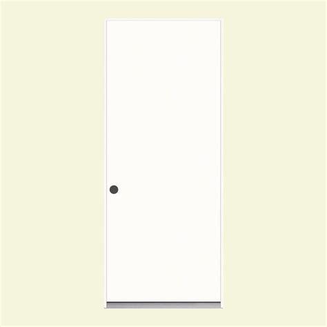 36 X 78 Exterior Door Jeld Wen 36 In X 78 In Flush Primed Steel Prehung Right Inswing Front Door Thdjw204600006