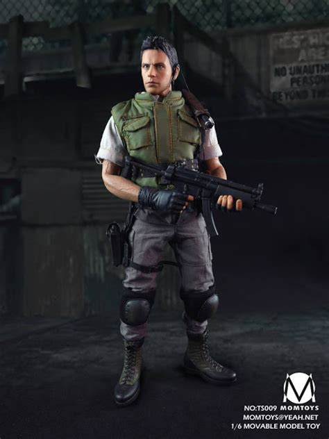 16 Phicen Redfield Figure toys 1 6th scale 12 inch figure aka resident evil chris redfield osw